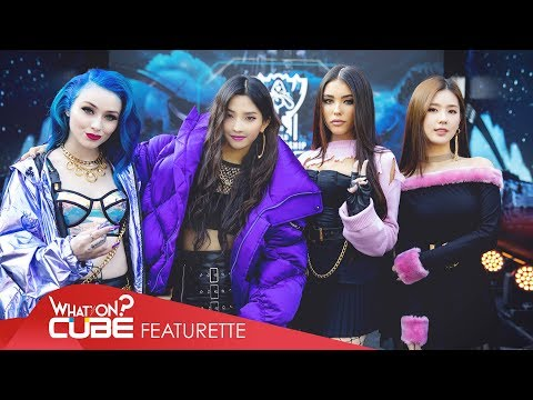 (여자)아이들((G)I-DLE) - LoL K/DA 'POP/STARS' Project Behind(미연&소연)