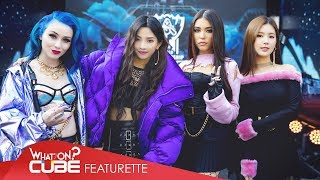 ((G) I-DLE) - LoL K/DA 'POP/STARS' Project Behind