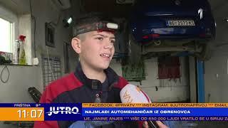 JUTRO - Najmlađi automehaničar u Srbiji: Ima samo 13 godina | PRVA