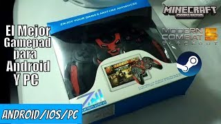 El MEJOR Gamepad Para Android BARATO! -Unboxing STK 7024x