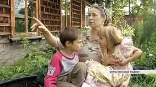 Многодетная мама построила дом (Енисей Минусинск)
