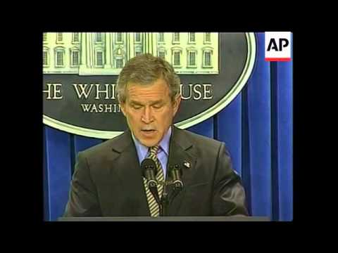 GNS Bush confirms Libya will dismantle WMD