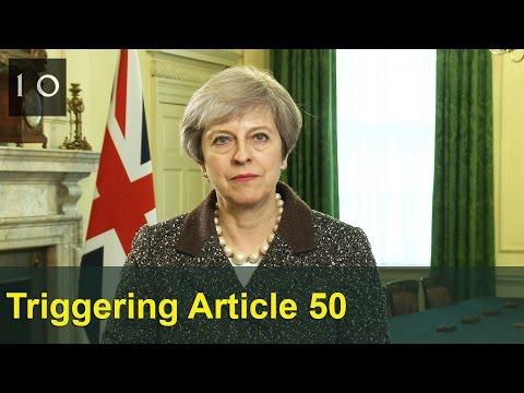 Triggering Article 50