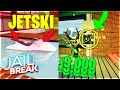 [FULL GUIDE] JAILBREAK ROBLOX JET SKI AND POWER PLANT ROBBERY! HOW TO ROB! + JETSKI SPEED TEST!