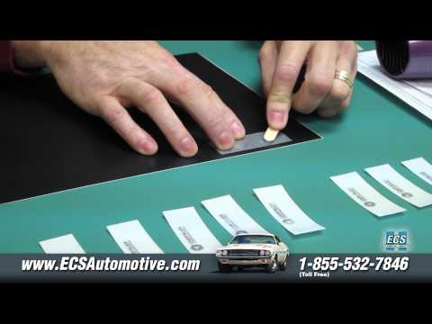 "ECS Automotive Concepts - How to Apply ""Chrysler Corporation"" VIN Plate Transfer"