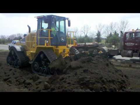 John Deere 764 High Speed Dozer Dozer In Action Youtube