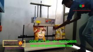 CONTINOUS BAND SEALER, bag sealing machine, continous bag sealing machine