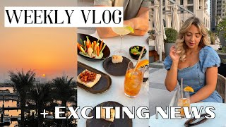 DUBAI VLOG: Iftar, Beach Yoga, EXCITING NEWS