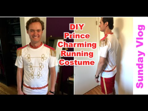 Sunday Vlog Diy Prince Charming Running Costume Aug 28
