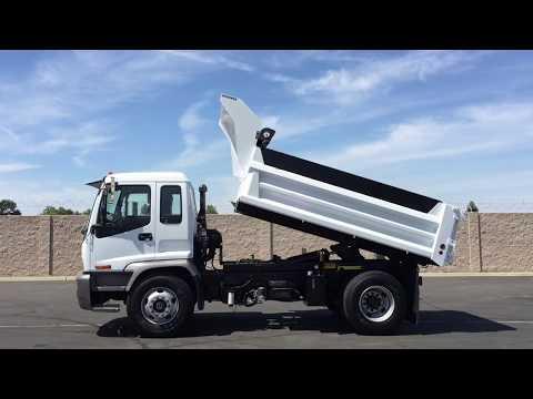 2008 Isuzu FTR 6 Yard Single Axle Dump Truck - YouTube
