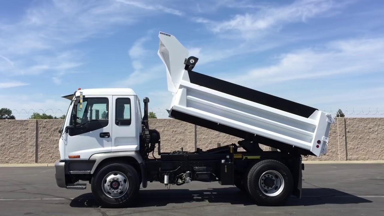2008 Isuzu FTR 6 Yard Single Axle Dump Truck
