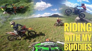 Riding with my buddies |Dirtbike echo|
