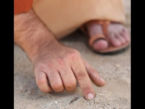 Yeshua Writes in the Dust--John 8 & Jeremiah 17