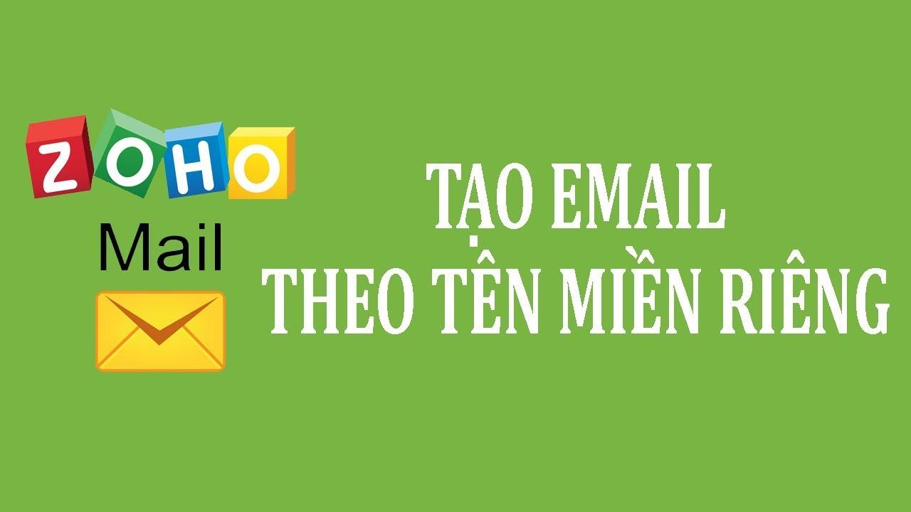 Hướng dẫn cách tạo Email theo tên miền riêng Miễn Phí từ A đến Z