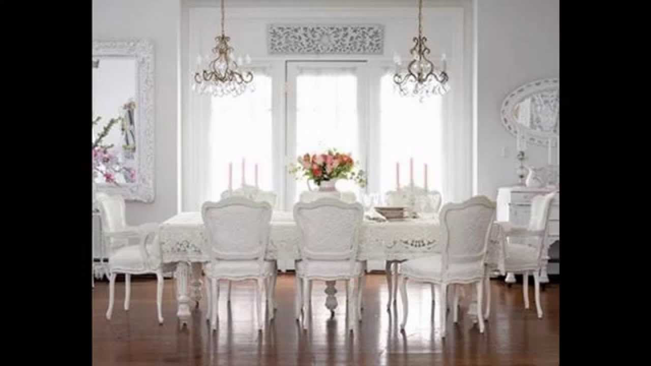Creative Shabby Chic Chandeliers Decorating Ideas   YouTube