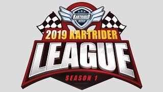[LIVE] 2019 카트라이더 리그 시즌1 3주차