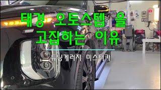 [화성 미스터카]팰리세이드 전동사이드스텝을 태경오토만 …