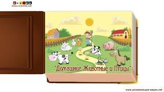 Видео с животными для ребёнка от года. Все обучающие карточки
