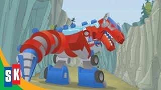 Transformers Rescue Bots: Dinobots! (2/3) Optimus Loses Control