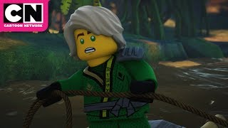 Ninjago | River Monster Attacks | Cartoon Network