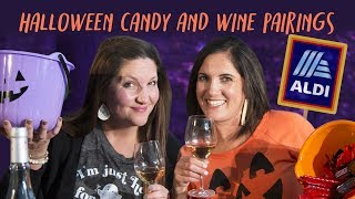 Moms Pair Halloween Candy with Discount Wine