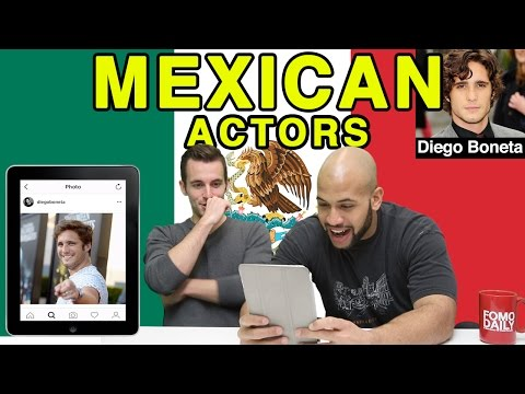 Like, DM, Unfollow: Mexican Actors