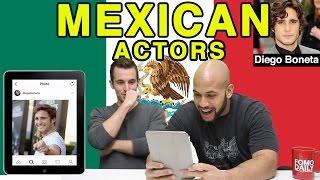Like, DM, Unfollow: Mexican Actors