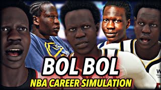 BOL BOL's NBA CAREER SIMULATION. | MOST SUCCESSFUL CAREER IN HISTORY? DEMIGOD SIXTH MAN