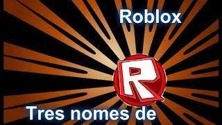 Three names of Bob!! -ROBLOX