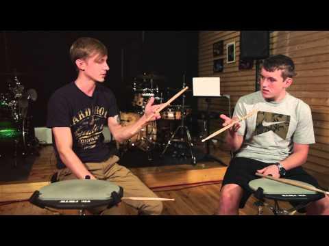 Drumchannel, 5-й урок. Обучение игре на барабанах.