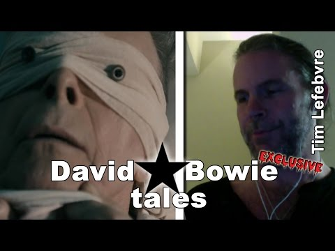 Lazarus Lives: David Bowie tales from the bassist Tim Lefebvre