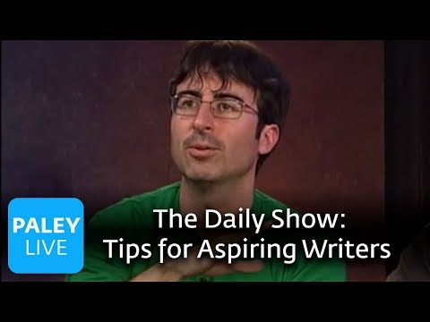 The Daily Show Writers - Tips for Aspiring Writers