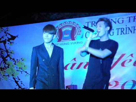 [Trường THPT Hùng Vương - 27/01/2016] Giờ Em Nơi Nào - Kelvin Khánh ft Tronie