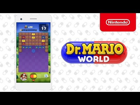 'Dr. Mario World' for iOS & Android Gets Gameplay Trailer & Release Details