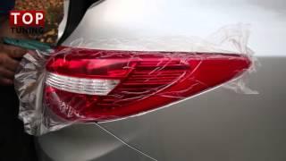 Задние светодиодные фонари Hyundai ix35  - Тюнинг Мерседес Стайл - Красные(Обзор по установке и подключению задних фонарей для IX35 2013-2016 (Рестайлинг). Модель - Mercedes Style в красной версии...., 2016-03-03T13:21:17.000Z)