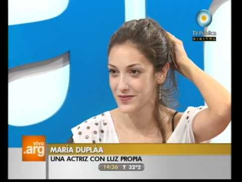 Vivo en Argentina - Invitada: María Duplaa - 20-12-11