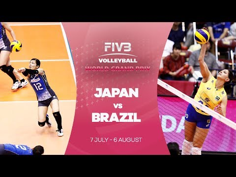 Japan v Brazil highlights - FIVB World Grand Prix