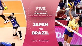 Japan v Brazil highlights - FIVB World Grand Prix