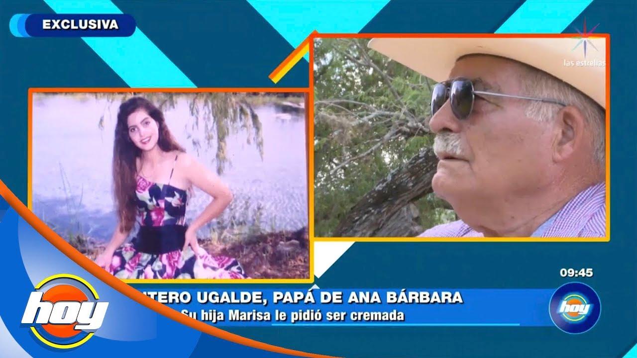 Ana Bárbara Viviana Ugalde don antero nos cuenta cómo superó la muerte de su hija menor | hoy