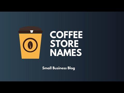 Creative Coffee Shop Names Ideas