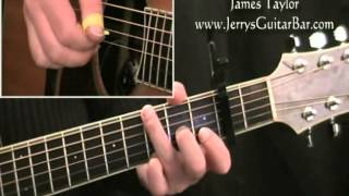 How To Play James Taylor You've Got a Friend (intro only)