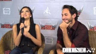 Entrevista Vico Escorcia y Sebastián Zurita, actores de Eddie Reynolds y Los Ángeles de Acero