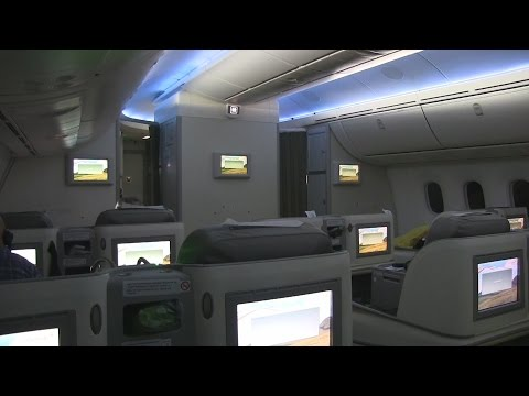 Ethiopian B787 Business Class Flight from Addis Ababa to Rome