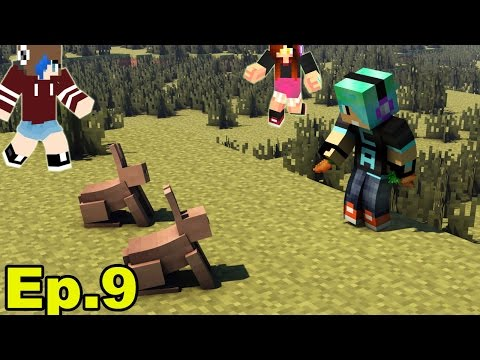 A Minecraft Survival Adventure Series / Episode 09/ Exploring Sky Islands And Bunnies!