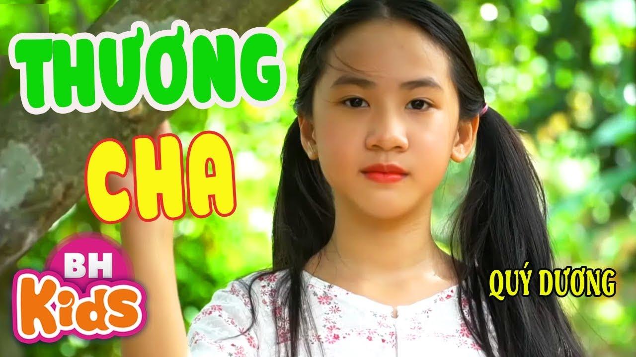 Thương Cha ♫ Quý Dương ♫ Giọng Ca Siêu Nhí hát tặng Cha ngọt ngào nhất