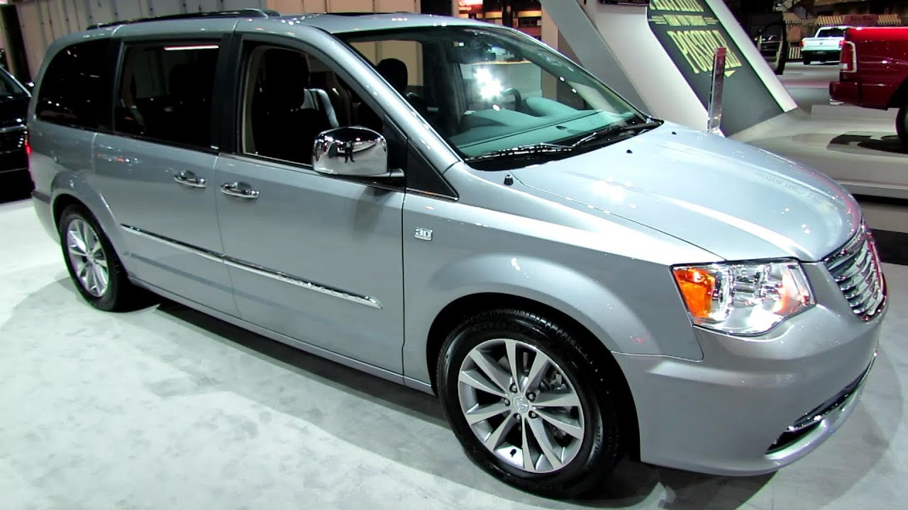 2014 chrysler town country 30th anniversary edition walkaround 2014 chicago auto show youtube