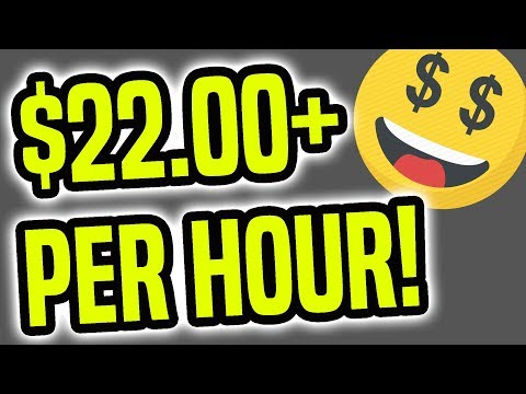 Earn PayPal Money FAST ($22+ Per Hour | Make Money Online)