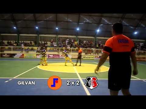 Gols - João Alfredo Futsal 5x3 Santa Cruz - 23/09/2017