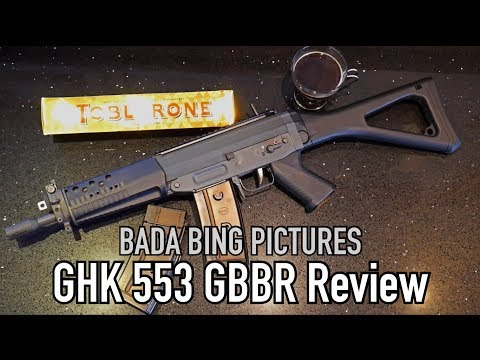 GHK SG553 GBBR Review