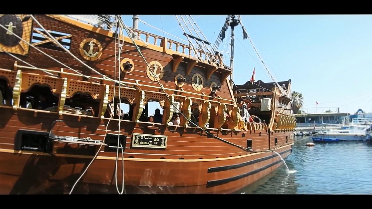 Bateau pirate selma2 sousse youtube - Image bateau pirate ...